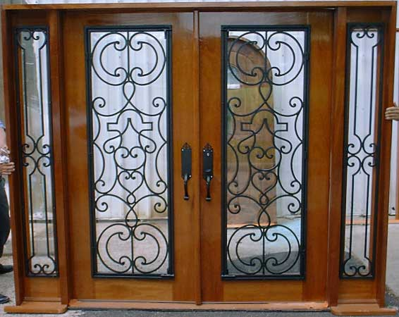 Wrought Iron Double Entry Doors 566 x 450 · 40 kB · jpeg