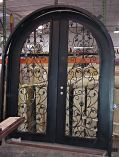 Double Radius Iron Doors