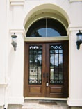 Iron Double Doors