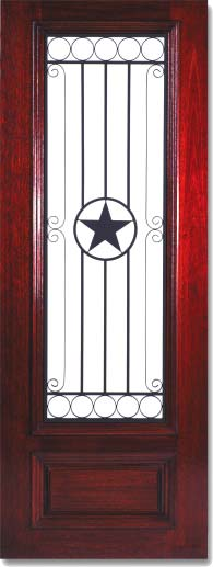 Star Iron Doors In Eight Foot Size