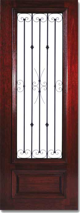 Custom iron doors 8 foot iron entry doors for 8 foot exterior doors