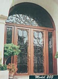 Double Iron Entry Doors