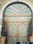 Designer Double Entry Doors