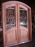 Courtlandt Double Glass Entry Doors