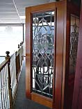 Beveled Full Glass Doors