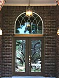 Round Top Glass Doors