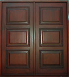 Napoli Carved Trim Double Doors