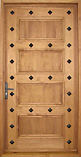 Mahogany Rustic Panel Doors