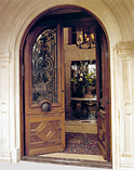 Bellini Black Double Doors