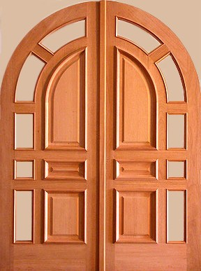 Custom Exterior Doors on Honduras Mahogany Wood Radius Double Entry Doors Dmc96 Custom Built To