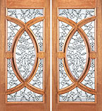 UE-695-A Beveled Double Doors