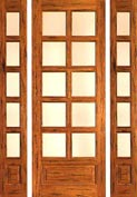 Country French 10-Lite Door