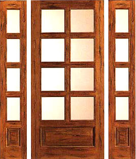 8 lite 6 foot french doors country style with sidelites for 6 foot exterior french doors
