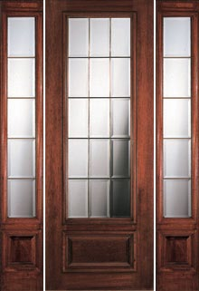 Attirant French Doors   Portobello 15 Light French Doors