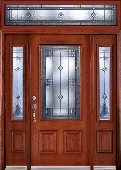 Ce At6201 Rectangle Three Quarter Allantown Glass Doors In