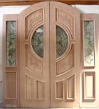 Hummingbird Glass Double Doors