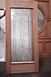Single Glass Panel Door