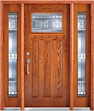 Craftsman Entry Doors Custom French Douglas Fir Doors