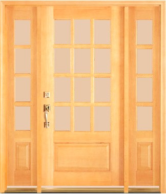 dmc77 unfinished 12 lite entry doors sidelights transom