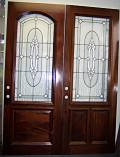 Designer Obscure Glass Doors