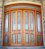 Basilica Narrow Glass Double Doors