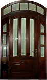 Arched Narrow Lite Glass Doors