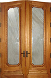 Moliterno Queen Anne Glass Doors