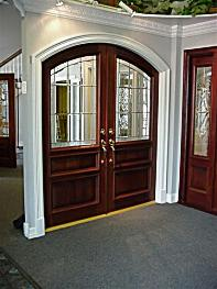 Susan Reynolds Custom Beveled and Stained Glass Door Expert