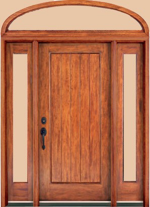Rustic DMC71 Plank Single Panel Transom Sidelights Rustic Entry Doors : door transom panel - pezcame.com