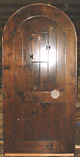 Rustic Solid Speakeasy Plank Single Doors